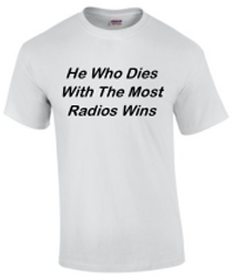 He who dies with the most radios