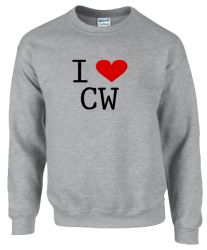 I love CW Sweatshirt