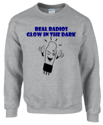 Real Radios Glow In The Dark Sweatshirt
