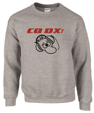 CQ DX! DX Guy Sweatshirt