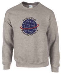 Amateur Radio Connects The World Sweatshirt