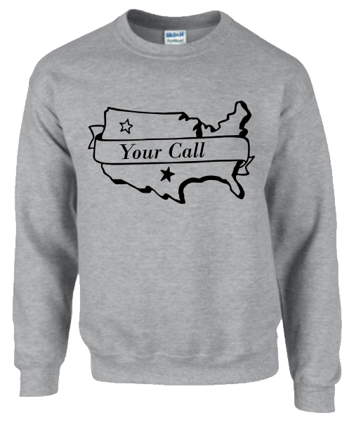 American Call Sweatshirt - Click Image to Close