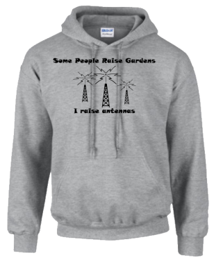 Some People Raise Gardens Hoodie