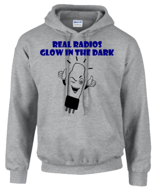 Real Radios Glow In The Dark Hoodie