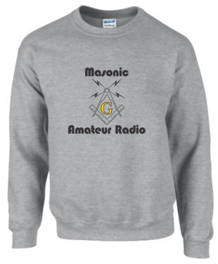 Masonic Amateur Radio Sweatshirt