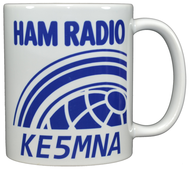 Ham Amateur Radio Mug With Call.