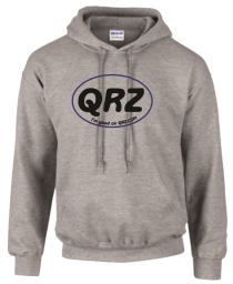 QRZ Large Oval Hoodie