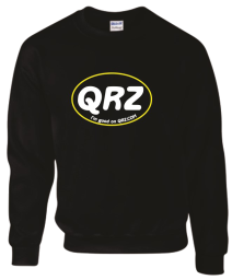 QRZ Large Oval Sweatshirt