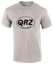 QRZ Large Oval T-Shirt